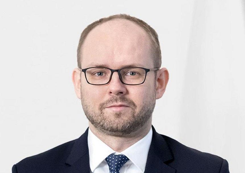 Wiceszef Ministerstwa Spraw Zagranicznych Marcin Przydacz