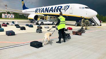 Białoruś. Samolot Ryanair, który musiał lądować w Mińsku
