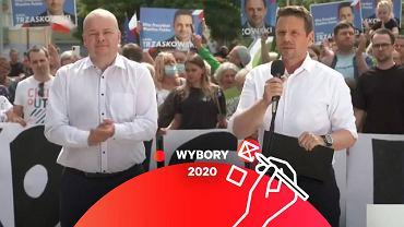Rafał Trzaskowski w Płocku