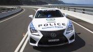 Lexus RC-F na służbie w Australii