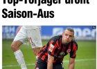 Bundesliga. Lewandowski straci rywala do walki o króla strzelców? Problem z kolanem Meiera