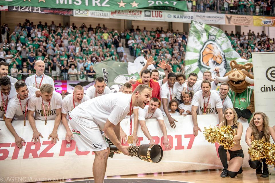 2017 rok. Stelmet BC Zielona Góra po pokonaniu Polskiego Cukru Toruń sięgnął po czwarty mistrzowski tytuł w historii klubu