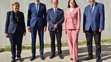 Spotkanie Ryszarda Terleckiego ze Swiatłaną Cichanouską
