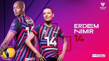 'Equal Jersey' - akcja Volleyball World