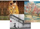 Dodatki do domu dla miłośników sztuki: Klimt, Banksy, Van Gogh