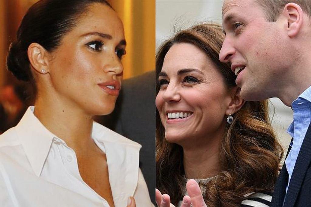 William, Kate, Meghan Markle