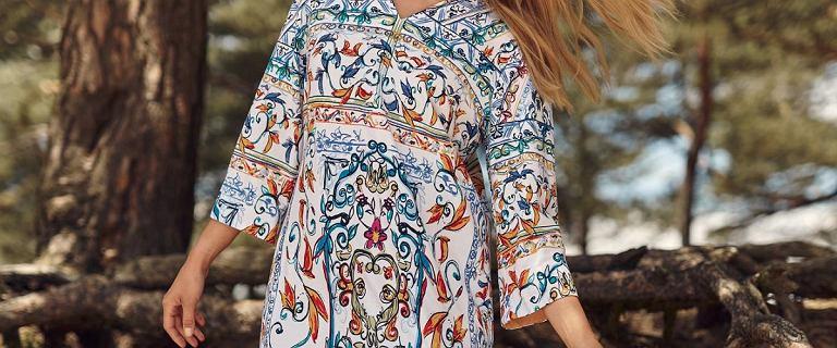 Najpiękniejsze sukienki z nowej kolekcji Tatuum. Ta z ornamentowym drukiem to absolutny HIT!