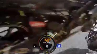 Wypadek na MotoGP z perspektywy Valentino Rossiego