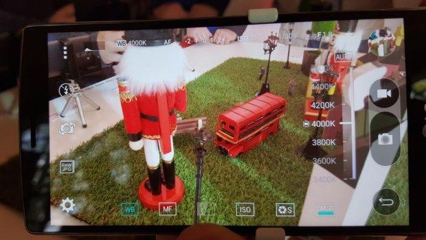 Tryb manualny w LG G4
