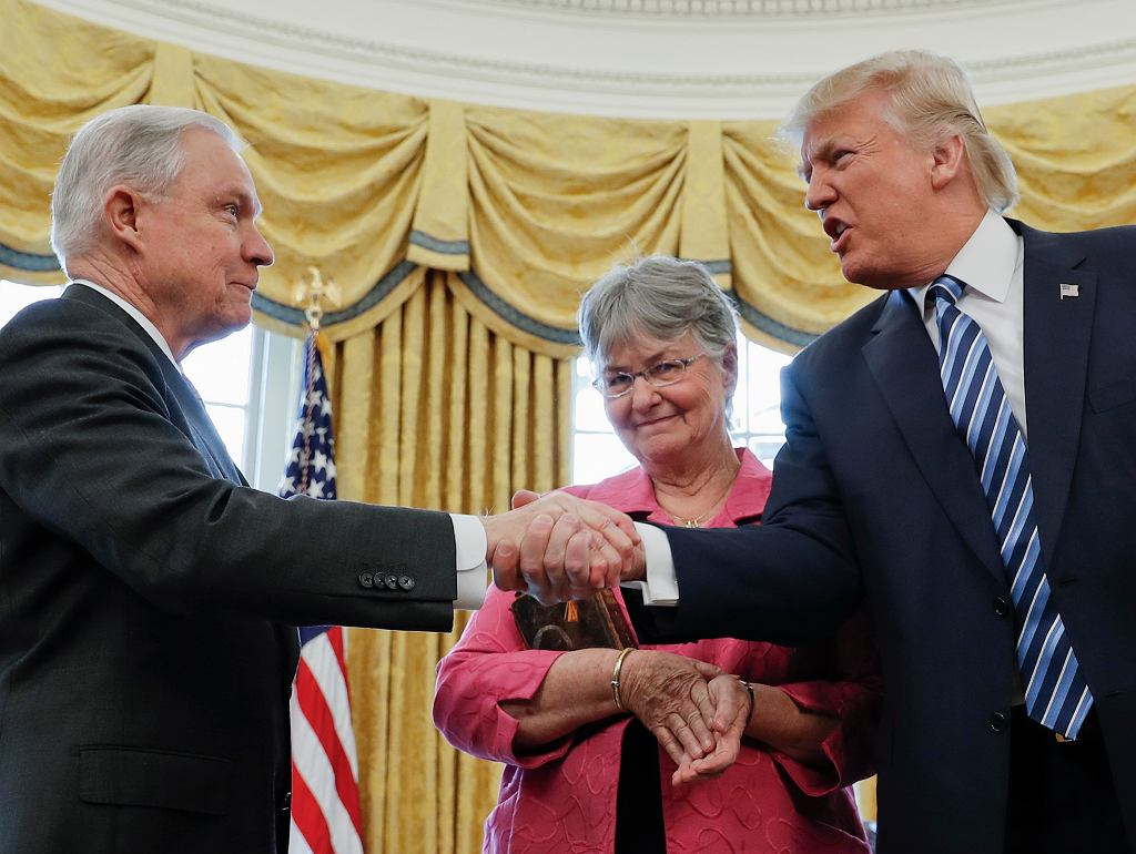 Donald Trump i Jeff Sessions