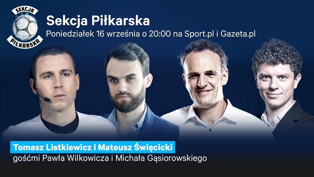 Tomasz Listkiewicz i Mateusz Święcicki gośćmi Sekcji Piłkarskiej