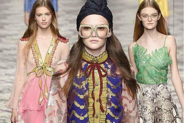 Gucci wiosna-lato 2016, Milan Fashion Week