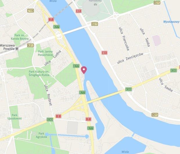 Kluby nad Wisłą Warszawa
