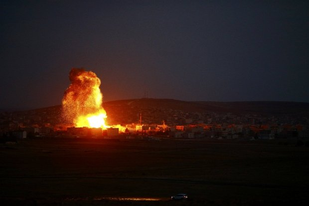 Bombardowanie sił Państwa Islamskiego w Syrii