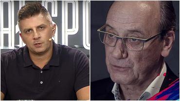 Mateusz Borek i Dariusz Szpakowski