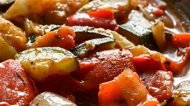 Leczo ze zgrillowanych warzyw i mięs
