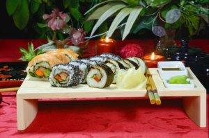 Romantyczne danie dla dwojga sushi
