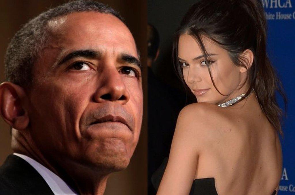 Barack Obama i Kendall Jenner
