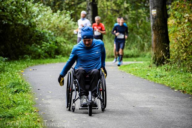 Zdjęcie numer 4 w galerii - Silesia Marathon. Chłód i wiatr niestraszne, rekord pobity! [ZDJĘCIA]