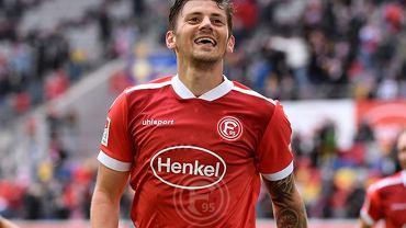 Dawid Kownacki strzelił pierwszego gola dla Fortuny