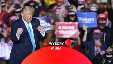 Donald Trump, ubiegający się o reelekcję prezydent USA.