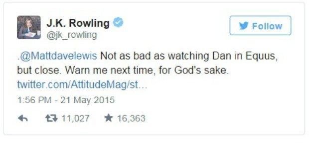 JK Rowling na Twitterze