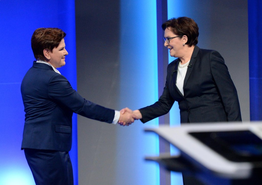 Debata Beata Szydło - Ewa Kopacz