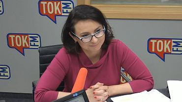 Kamila Gasiuk-Pihowicz w Poranku TOK FM.