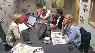 Gośćmi Dominiki Wielowieyskiej byli: Paweł Lisicki, Rafał Kalukin i Agata Nowakowska