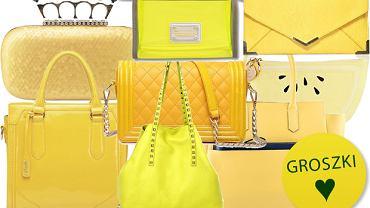 Słonecznie: żółte torebki - ponad 90 propozycji