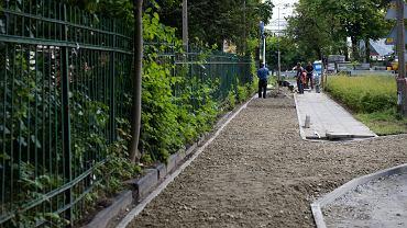 Nowe drogi rowerowe powstają przy Dworcu Głównym.