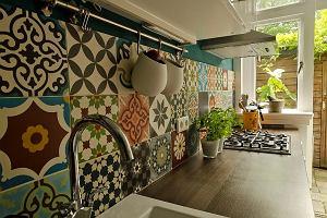 Płytki patchwork ceramiczne i cementowe