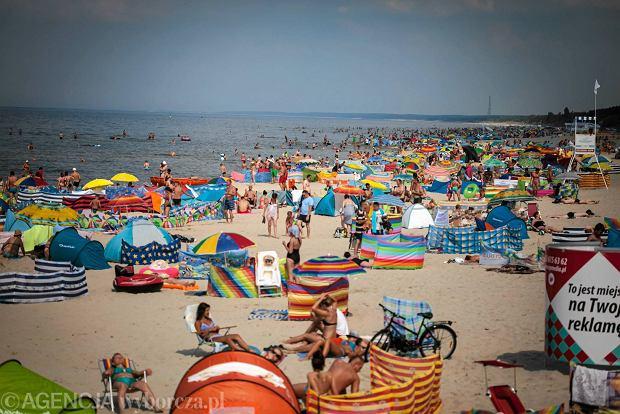 29.07.2014 Gdansk , wakacje z Zuza i Mackiem . Plaza , Kryniaca Morska . FOT. Renata Dabrowska / Agencja Gazeta