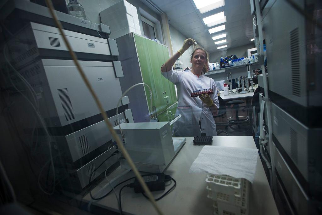 Laboratorium Rosyjskiej Agencji Antydopingowej RUSADA.
