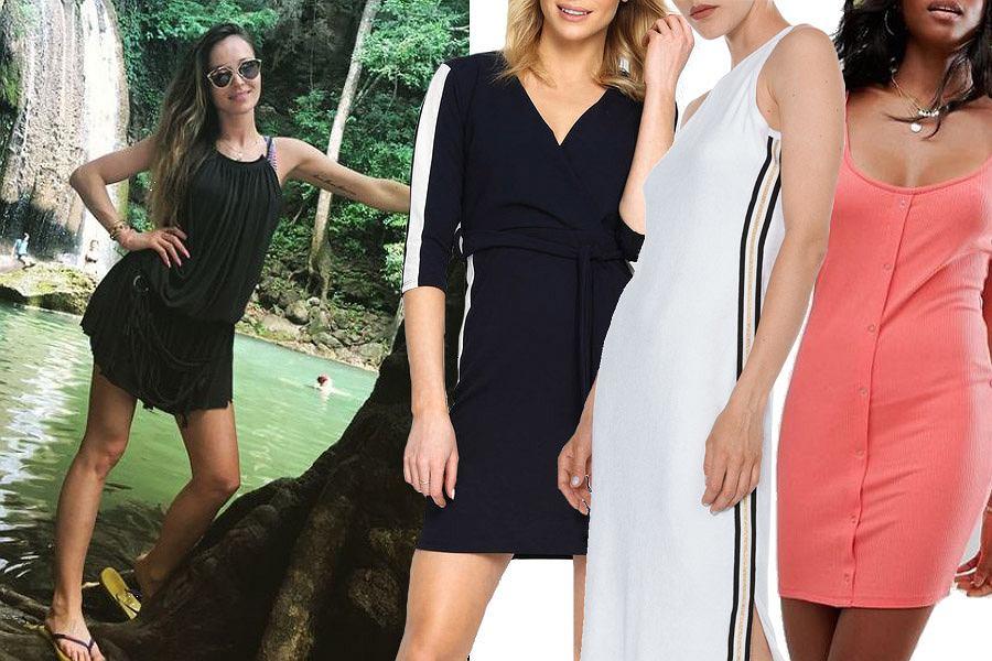 Kolaż, sukienka sportowa/Materiały partnera