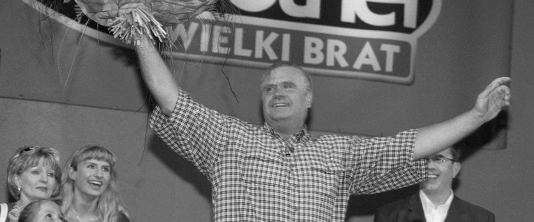 """""""Big Brother"""" TVN żegna Janusza Dzięcioła. To on jako pierwszy w Polsce został zwycięzcą programu"""
