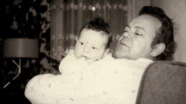 Tadeusz Dąbrowski z ojcem