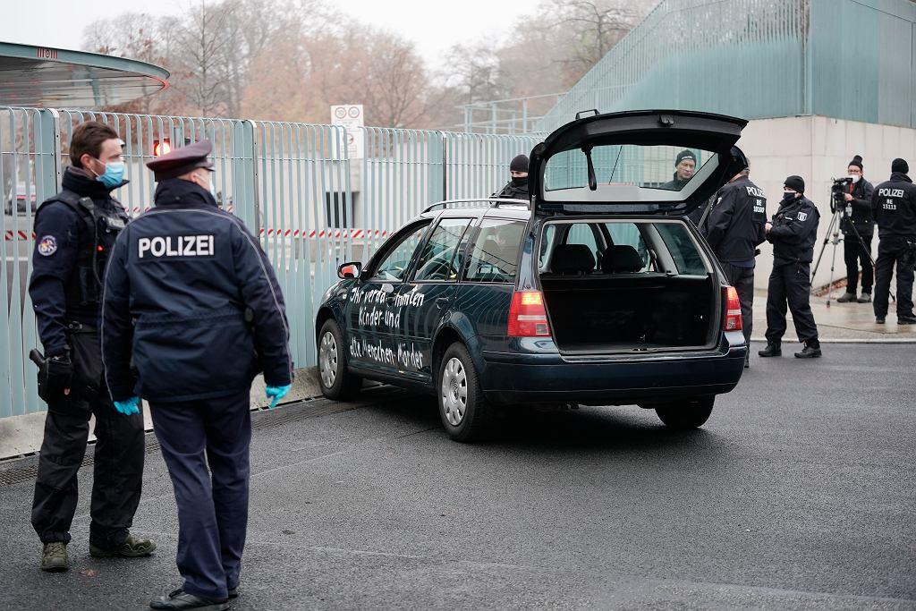 Germany Chancellery Crash