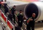 Mistrzostwa świata w piłce nożnej 2014. Piorun uderzył w samolot reprezentacji Hiszpanii
