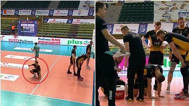 Grzegorz Łomacz zasłabł w trakcie meczu Vervy z PGE Skrą