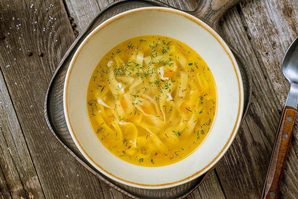 Rosół to jedna z najpopularniejszych zup w naszej kulturze.