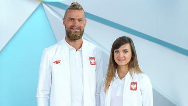 Michał Stawicki i Joanna Mazur