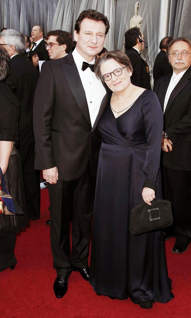 Agnieszka Holland i Robert Więckiewicz - Oscary 2012