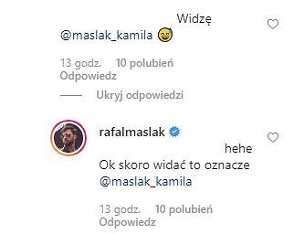 Rafał Maślak komentarz