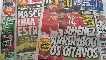 Portugalska prasa przed meczem Belenenses - Lech Poznań