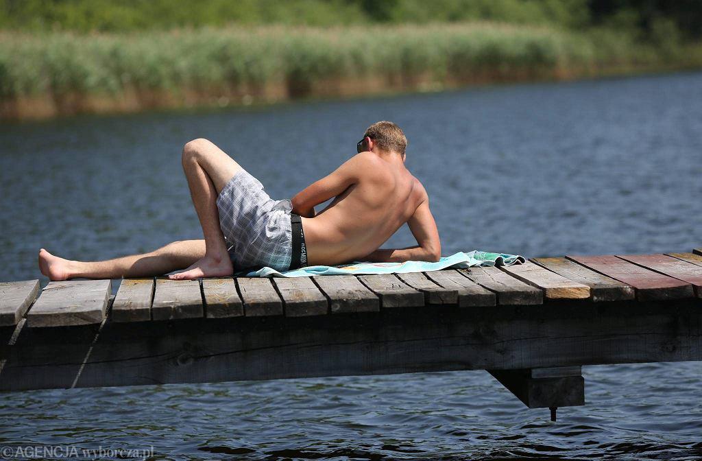 Lublin. Wakacje nad jeziorem Roguzno, czerwiec 2016.