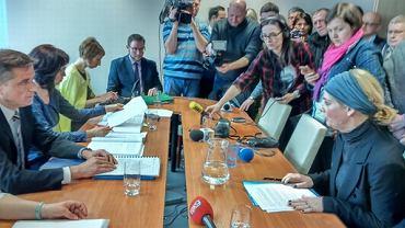 Posiedzenie komisji dyscyplinarnej kuratorium ws. nauczycielek z Zabrza
