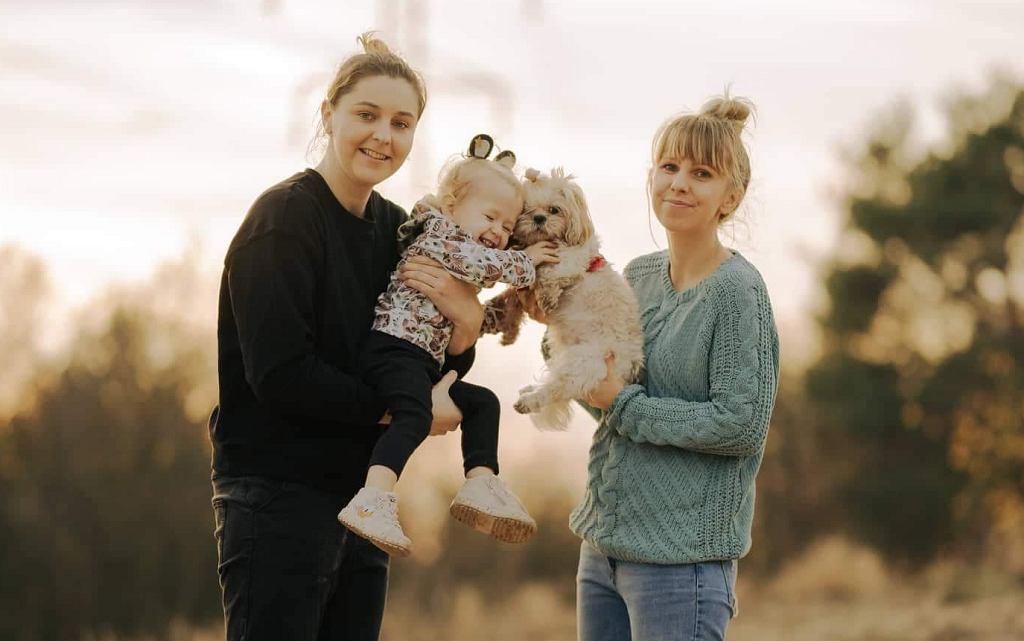 Kasia, Ewelina i Amelka