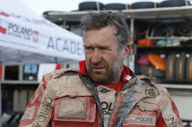 Rafał Sonik na Rajdzie Dakar