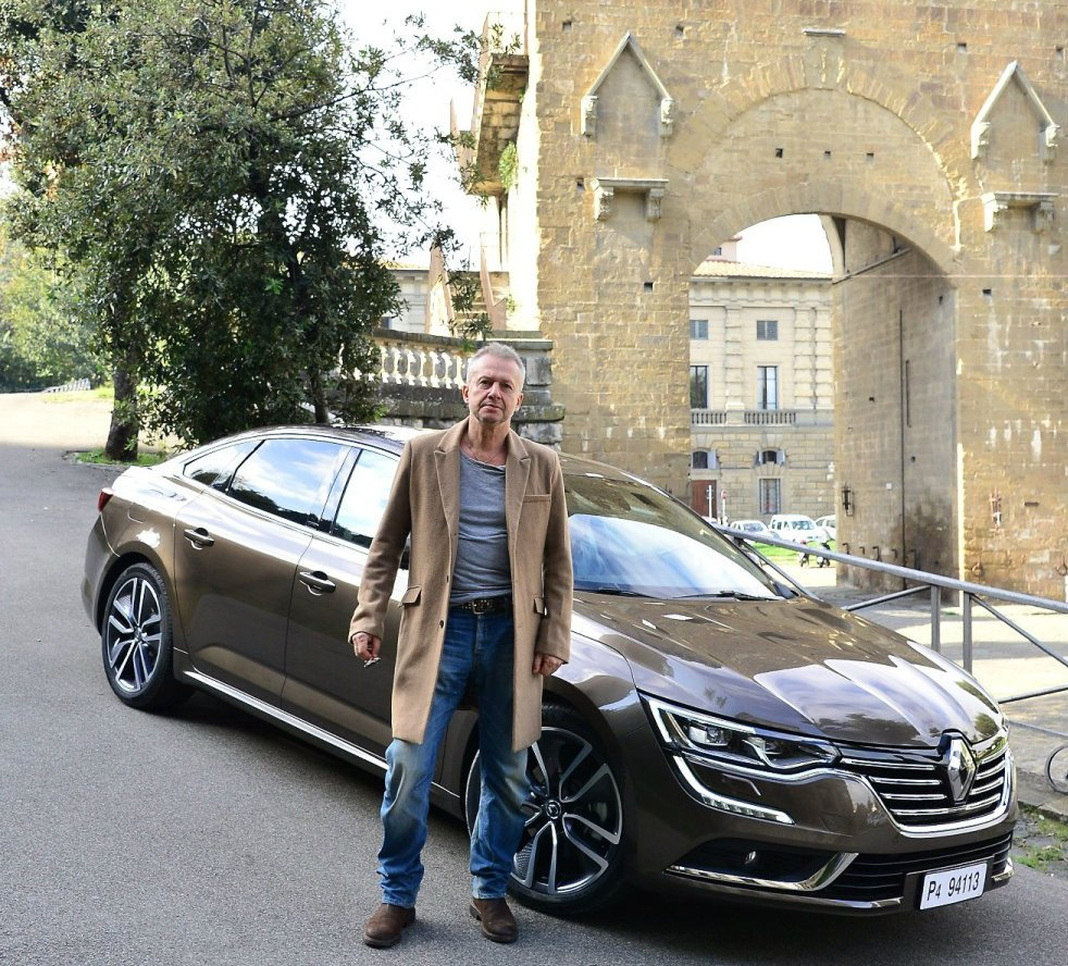 Bogusław Linda, Renault Talisman